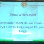 Temu Wicara ISBN dengan Perpusnas
